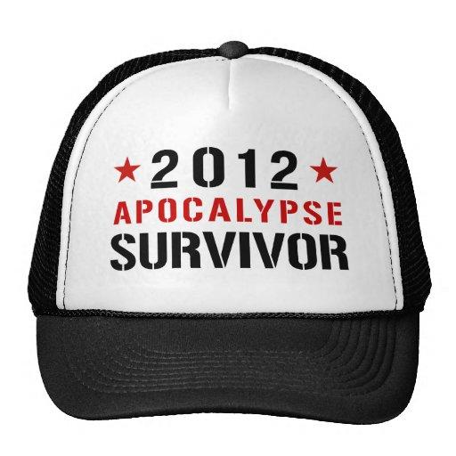 2012 apocalypse survivor hat