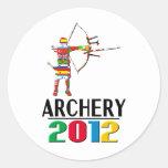 2012: Archery Classic Round Sticker