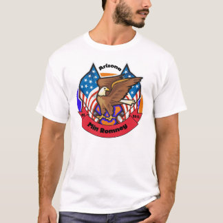 2012 Arizona for Mitt Romney T-Shirt