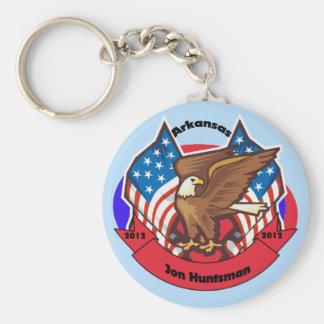 2012 Arkansas for Jon Huntsman Keychain
