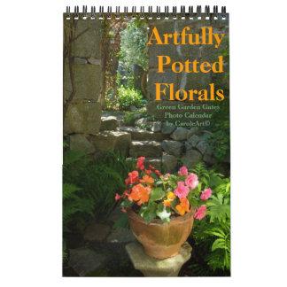 2012 Artfully-Potted Florals Calendar