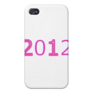 2012 artículos rosados iPhone 4/4S funda