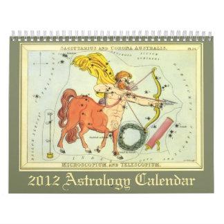 2012 Astrology Calendar