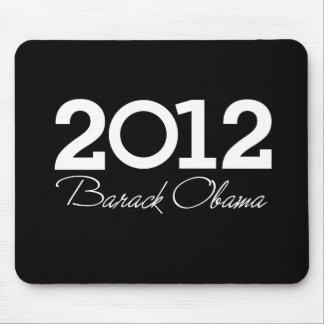 2012 - Azul de Barack Obama Mouse Pads