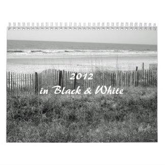 2012 B&W Calendar of Nature