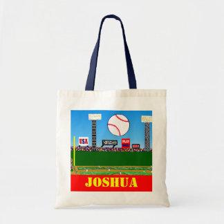 2012 Back to School Kids Baseball Book Bag Gift