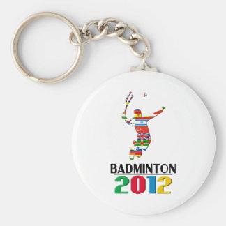 2012: Bádminton Llaveros Personalizados