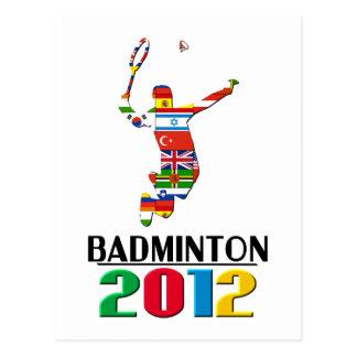 2012: Badminton Postcards