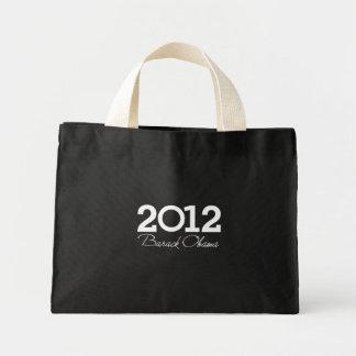 2012 - Barack Obama blue Tote Bag
