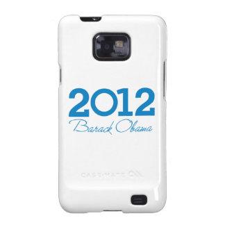2012 - Barack Obama blue Galaxy S2 Cover