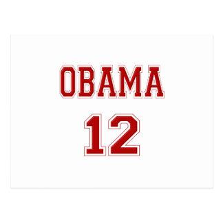 2012 Barack Obama Postcard