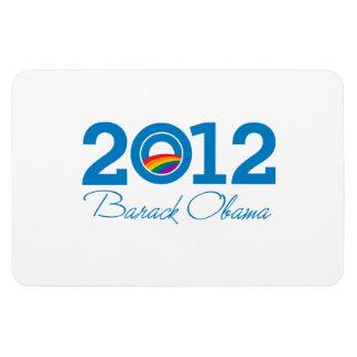 2012 - Barack Obama Pride Magnet