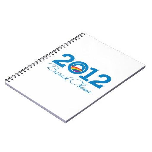 2012 - Barack Obama Pride Note Book