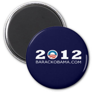 2012 Barack Obama Re-election Design Magnet