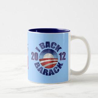 2012 BARACK OBAMA RE-ELECTION Two-Tone COFFEE MUG