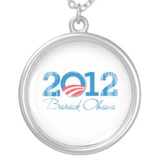 2012---BARACK OBAMA-- Vintage png Colgantes Personalizados