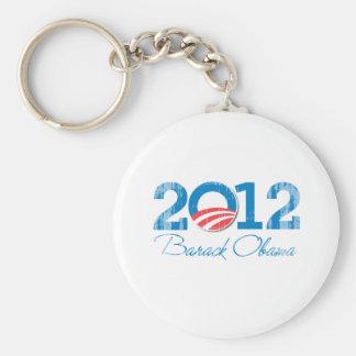 2012 - Barack Obama - Vintage.png Llavero Personalizado