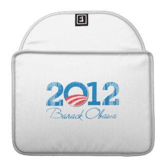 2012---BARACK-OBAMA-- Vintage.png Sleeve For MacBook Pro