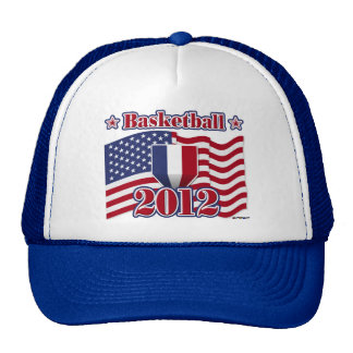 2012 Basketball Mesh Hat