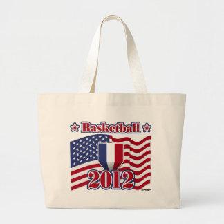 2012 Basketball Jumbo Tote Bag
