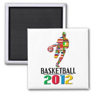 2012: Basketball Magnet