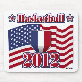 2012 Basketball Mouse Pad