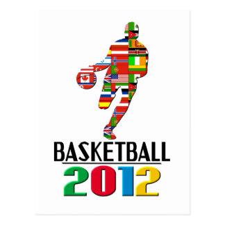 2012: Basketball Postcard