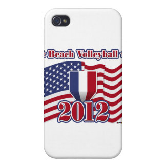 2012 Beach Volleyball Cover For iPhone 4