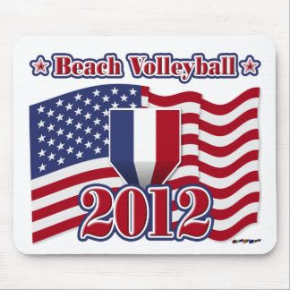 2012 Beach Volleyball Mouse Pad