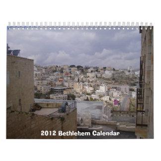 2012 Bethlehem Calendar