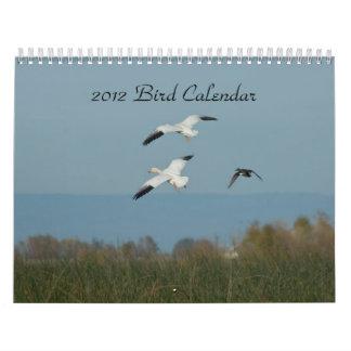2012 BIRD CALENDAR