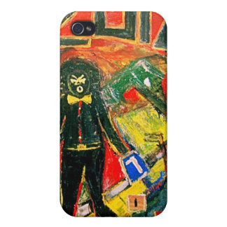 2012 BLACK DRAFT iPhone 4/4S COVER