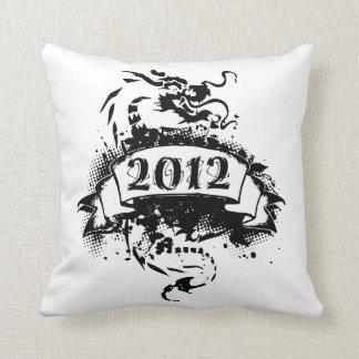 2012 - Black Dragon -  Pillow