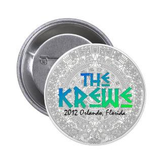 2012 botón del MAYA de Krewe - edición limitada Pins