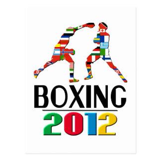 2012: Boxing Postcard