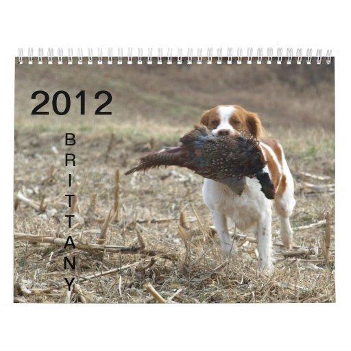 2012 Brittany Calendar