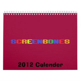 ¡2012 calandrias! calendario