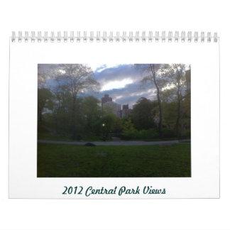 2012 Calendar Central Park