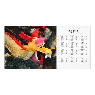 2012 Calendar Dragon Photo Card