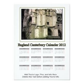 2012 Calendar England Canterbury The MUSEUM Zazzle Card