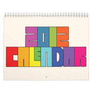 2012 Calendar Fun Design