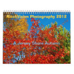 2012 Calendar Jersey Shore Autumn