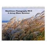 2012 Calendar Jersey Shore Summer