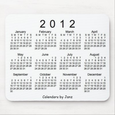 2012+calendar