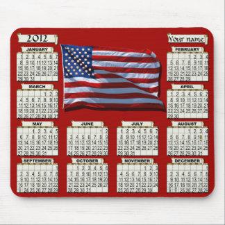 2012 Calendar Mousepad