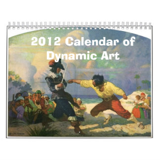 2012 Calendar of Dynamic Art