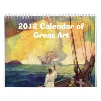 2012 Calendar of Great Art