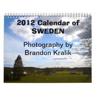 2012 Calendar of Sweden