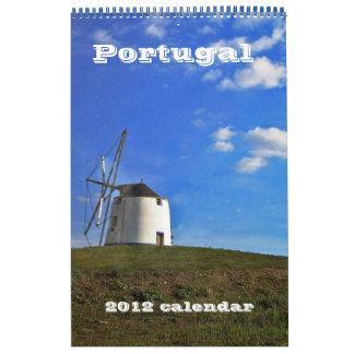 2012 calendar Portugal
