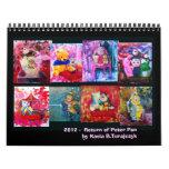 2012 Calendar- Return of Peter Pan